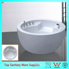 Cuvette populaire en forme de bol ovale en forme de ovale blanc naturel
