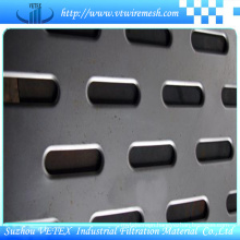 Oval Hole Perforated Wire Mesh Sheet