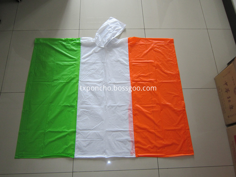 Ireland poncho