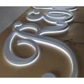 Von hinten beleuchteter Edelstahl beschriftet Außen-Buliding Signage