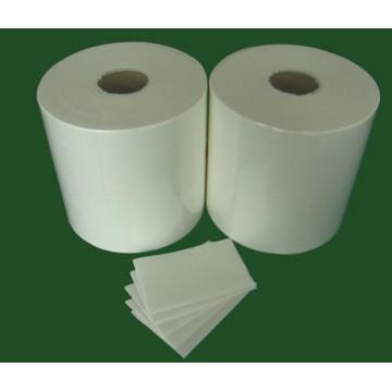 45g Toalhetes não tecidos 55% Celulose 45% Poliéster Blend Wiper