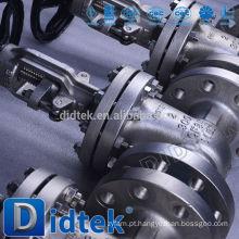 Didtek Trade Assurance válvula de portão operada manualmente com flange