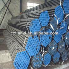 JIS G3444 STK400 tubo de aço sem costura