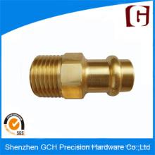 Design personalizado Pinos de cobre usinados CNC de alta qualidade