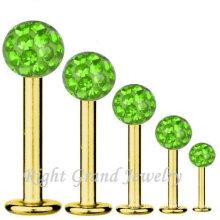 2015 nuevos artículos en China mercado joyería de encargo del labio Piercing
