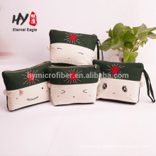 Canvas material embroidery craft handmade lady wallet