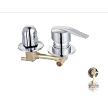 Manufacturer Hot Selling New design Bathroom Faucet 3 Way Faucet Shower cabin brass mixer sanitary faucets