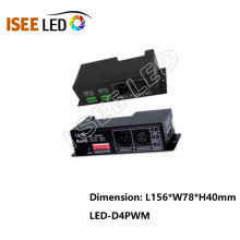 LED rgb dmx dekoder 4 kanallı LED dimmer