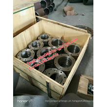 chapa de aço carbono Q235 flange face plana FF
