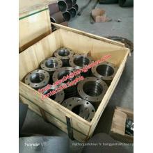 bride en acier au carbone Q235 plat bride FF