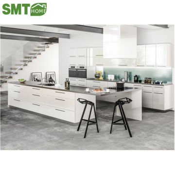 Contemporary White Gloss Kitchen Cabinets Door Sample