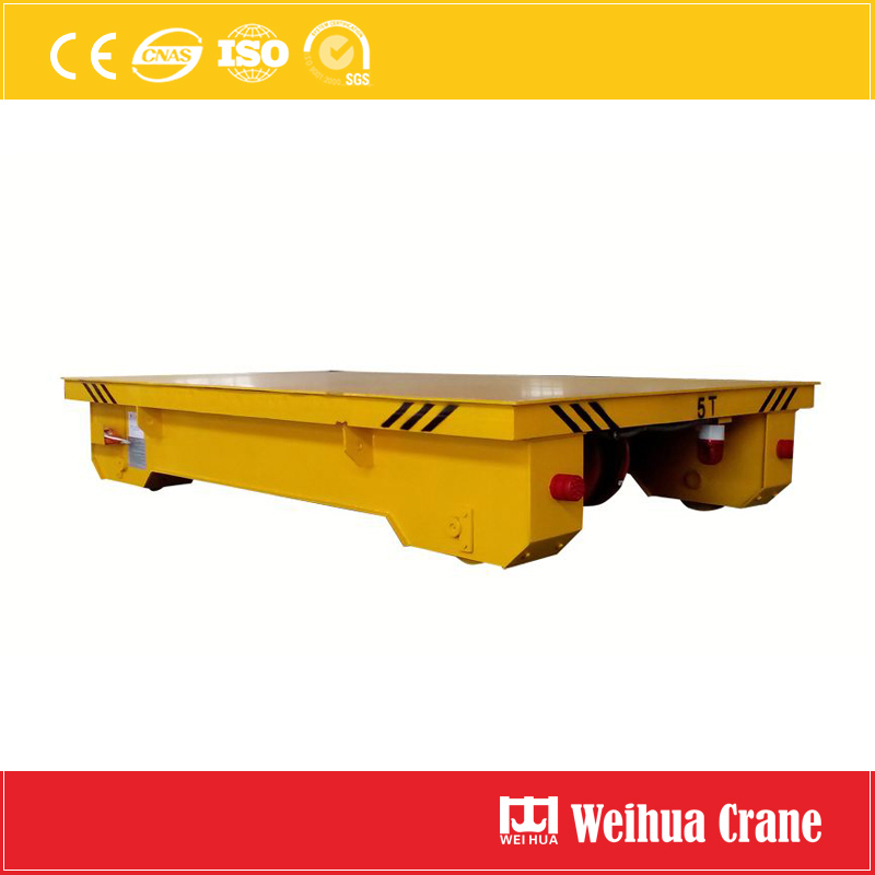 Electric Flat Transfer Cart 1