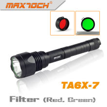 Maxtoch TA6X-7 antorcha 1000LM XML T6 caza táctico CREE LED linterna