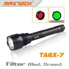 Maxtoch TA6X-7 recarregável LED circuito Cree LED Lanterna