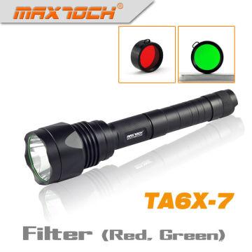 Maxtoch TA6X-7 1000 Lumen Cree T6 linterna fuerte