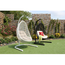 2017 Top Selling UV Resistance Rattan Egg Swing Chair Outdoor Garden Furniture