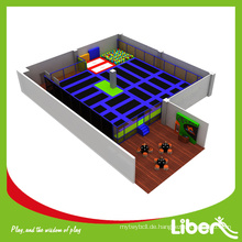 2015 Top-Selling Commercial Sports Indoor Trampolin mit Foam Pit für Kinder