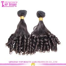 Atacado de alta qualidade anjo romântico cabelo extensão 8a série venda quente amostra grátis cabelo bundles