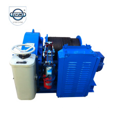 JKL model hand control electric piling winch