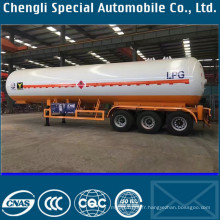Remorque liquide de transport d'ammoniaque de la remorque 58cbm de gaz d'ammoniaque