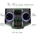 Doble 10 pulgadas Bluetooth altavoz PA Karaoke Entertainment System, micrófono inalámbrico E246