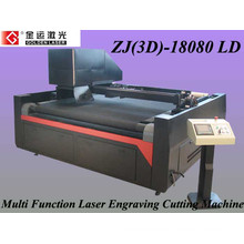 Embroidered garment patch cutting machine