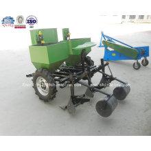 Plantador de patatas de dos hileras con tractor de dos hileras con calidad de fábrica en agricultura
