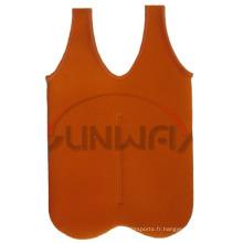 Porte-bouteille de vinyle à 2 paquets isolé personnalisé, sac de refroidissement (BC0024)