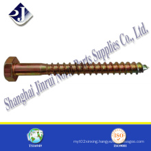 China Good Quality Hex Lag Wood Screw