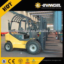 YTO 3ton cheap forklift for sale in dubai/ Rough Terrain Diesel Forklift CPCD30