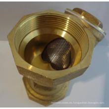 Latón Y tipo de filtro de agua de malla
