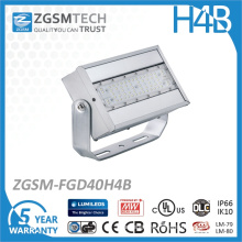 Commercial Outdoor LED Flood Light Fixture 40W with Philips Chips