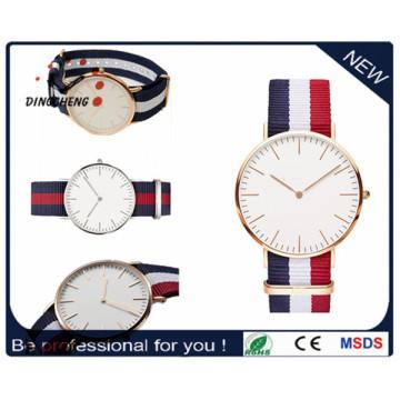 Moda squartz esporte personalizado pulso relógio de aço inoxidável para homem e mulher