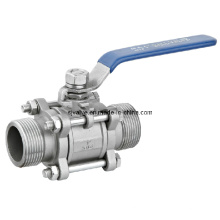 CE 3PC Male Thread Ball Valve