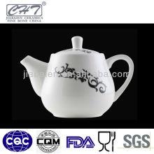 A003 Flor de porcelana antigua pota de agua potable