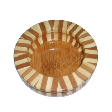 Hot Selling Circular High Quality Wooden Ashtray