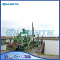 Cutter suction dredger operation