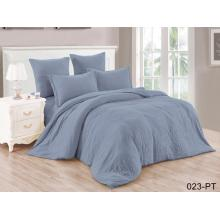 King Comforter Set 100% Polyester Solid Fabric