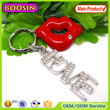 Guangzhou Exported Brand Name Custom Keychain Maker Metal Keychain for Sale #14518