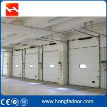 Porte de garage à usage industriel bien conçue