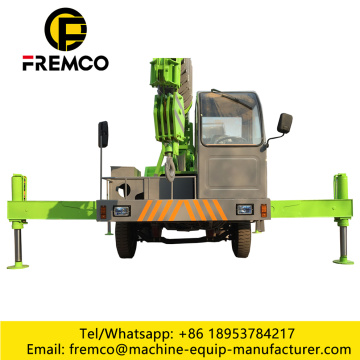 Fixed Hydraulic Outrigger Truck Crane