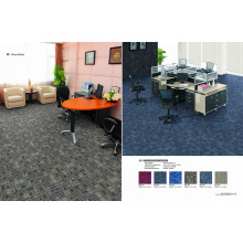 PP Material Modular Carpet Tile with Eco-Bitumen Backing