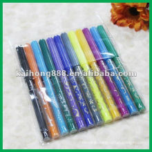 Non toxic Water Color Pen Set with slim pen body