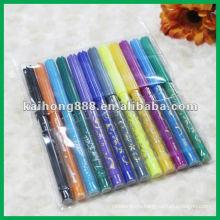 Нетоксичные воды цвета перо набор с тонкой ручкой тела