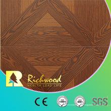 Stratifié en bois stratifié en bois en bois d'érable de chêne de relief de 12.3mm AC4