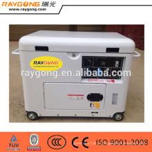 7.5 kva молчком тепловозный малый молчком тепловозный генератор