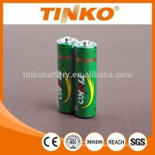 Pesado deber AA batería OEM de R6 welcoemd 4pcs/shrink 60pcs/dzn shenzhen TINKO, batería
