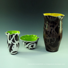 Простой дизайн Творческая ваза Crecmia Home Furnishings