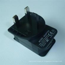 Carregador de adaptador de energia USB 5V2a (5V2000mA) do Reino Unido