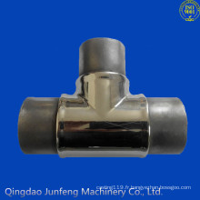 Raccord de tuyau d'acier inoxydable fait sur commande, tuyau de raccord, raccord de tuyau d'acier